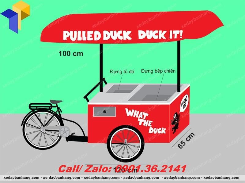 xe đạp bán bánh lưu động