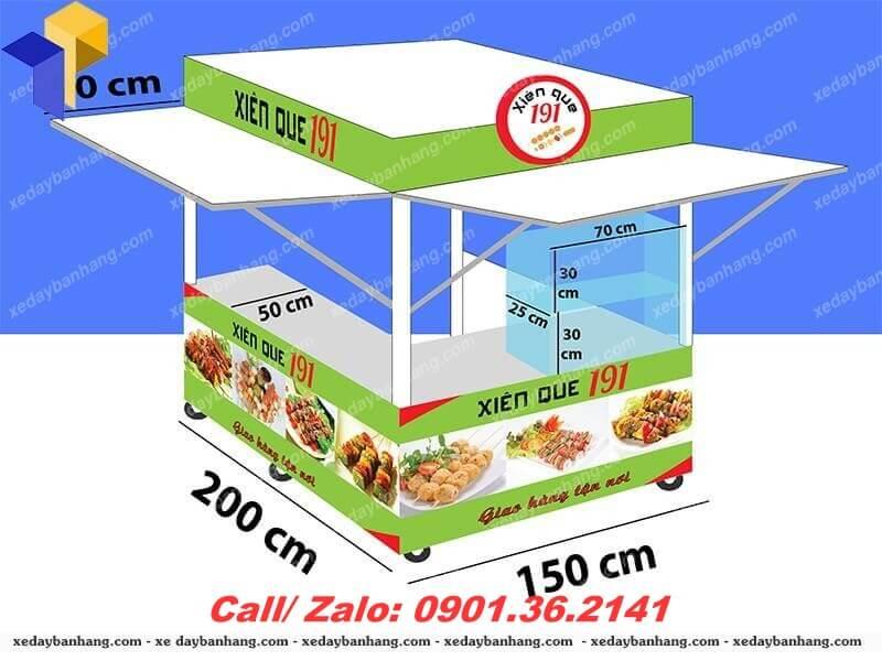 kiot bán thức ăn nhanh