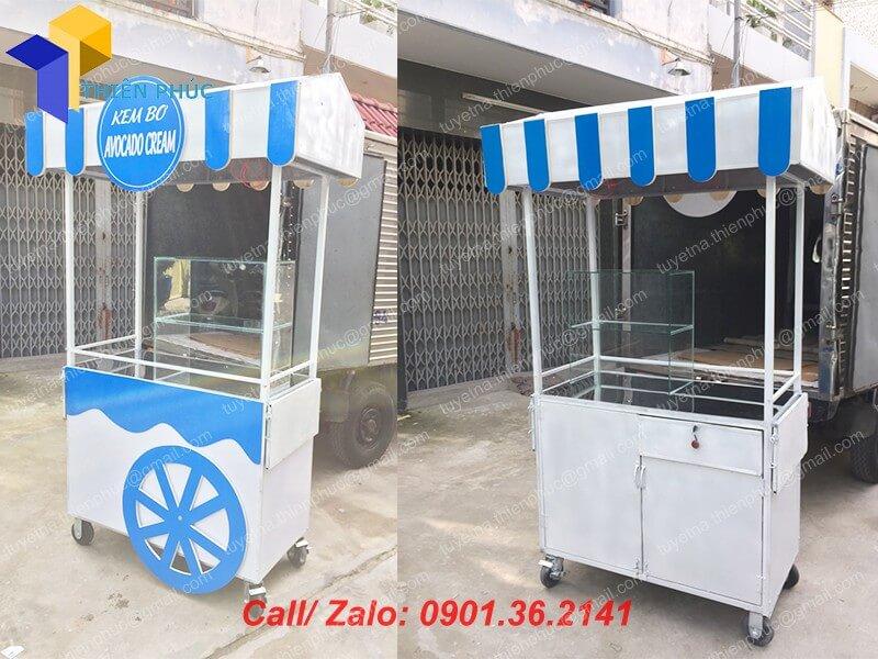 xe bán kem bơ