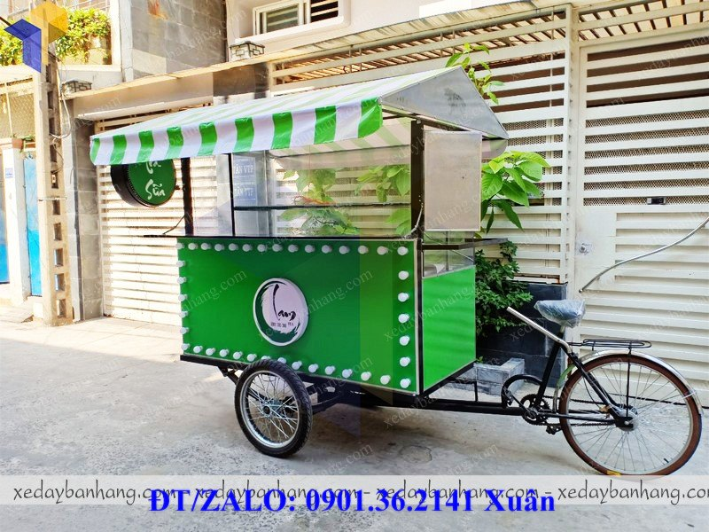 xe đạp bán hàng lưu động đẹp giá rẻ
