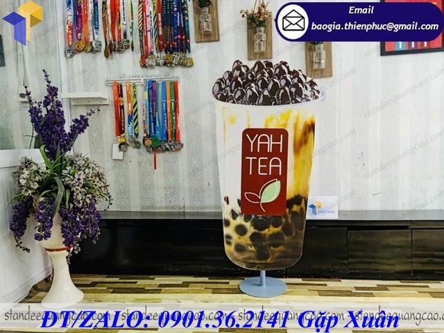 giá mockup mô hình ly trà sữa