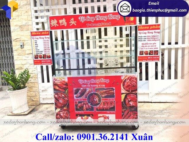 giá xe bán vịt cay hong kong