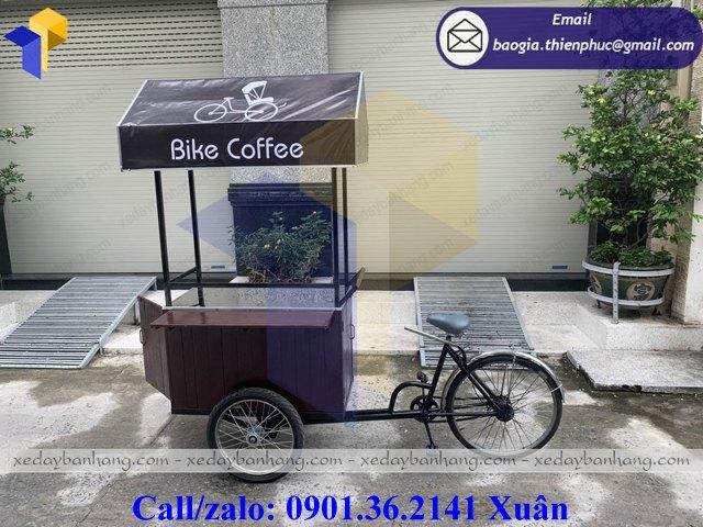 giá xe bike coffee lưu động
