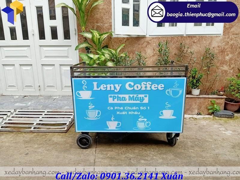 giá xe đẩy bán cafe