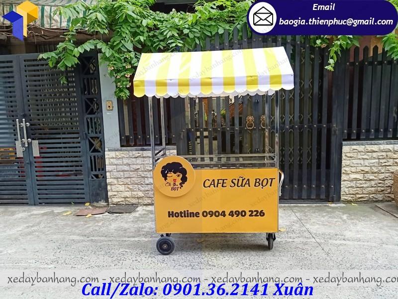 thiết kế tủ inox bán cafe