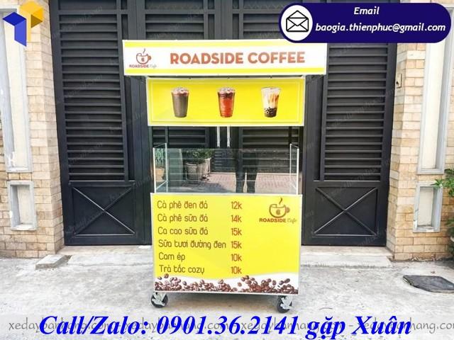 tủ bán cà phê giá rẻ