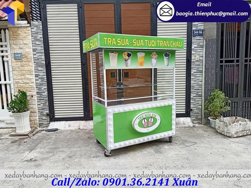 tủ bán trà sữa trân châu đường đen