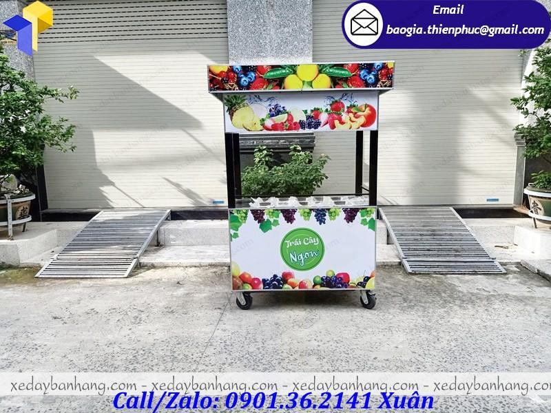 tủ bán trái cây tô
