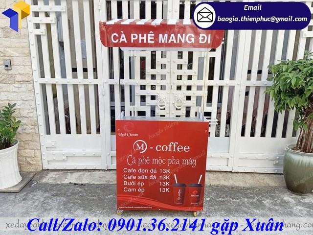 tủ lắp ráp bán cafe