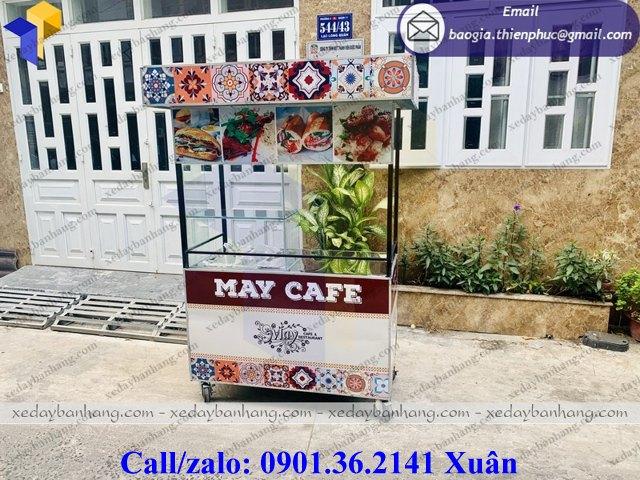 xe bán cafe lưu động