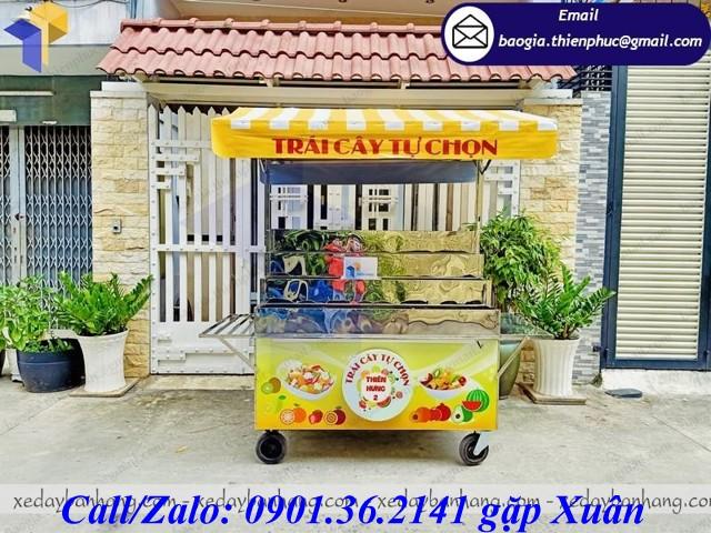xe bán trái cây