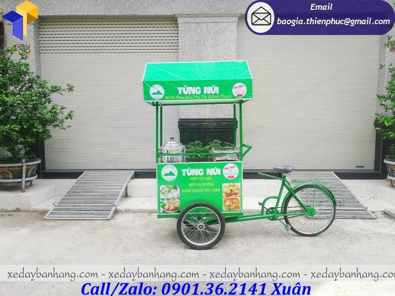 xe đạp bán thức ăn giá rẻ